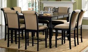 Leighton Dining Room Set Amaretto Counter Height Dining Room Set 101828 From Coaster