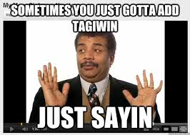 Neil Degrasse Tyson Reaction Meme - sometimes you just gotta add tagiwin just sayin neil degrasse