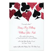 las vegas wedding invitations announcements zazzle