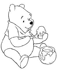 free printable winnie the pooh bear coloring pages h u0026 m
