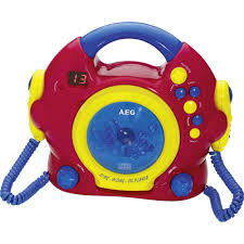 cd player kinderzimmer kinder cd player aeg 400624 cd inkl karaoke funktion inkl