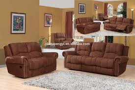Polyurethane Microfiber Living Room Furniture Carameloffers - Microfiber living room sets