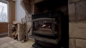 bio ethanol insert for wood burning fireplace by eco feu youtube