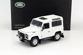 land rover defender white dtw corporation rakuten global market kyosho 1 18 2013 model