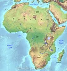 Africa Map Quiz Fill In The Blank by Old Homeworks World Geography