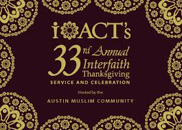 interfaith thanksgiving service interfaith of central