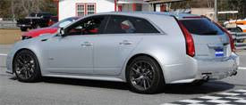hennessey cadillac cts v price 2012 hennessey cadillac cts v hammer wagon motorweek