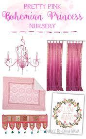 Bohemian Nursery Decor by Quirky Bohemian Mama A Bohemian Mom Blog Pretty Pink Bohemian
