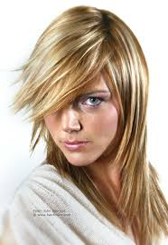 pics of razored thinned hair long hairstyle with razored ends and hair coloring with tri tones