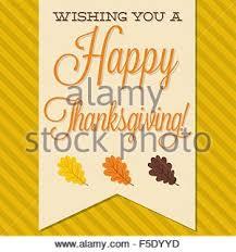 sash happy thanksgiving card in vector format stock vector