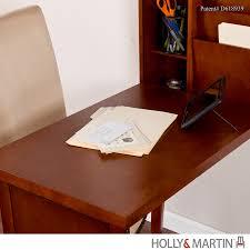 Convertible Desk Holly U0026 Martin Leo Fold Out Convertible Desk Walnut Secretary