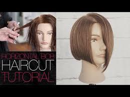 90 degree triangle haircut cutting a horizontal bob haircut tutorial back to basics matt