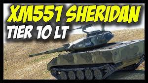 world of tanks tier 10 light tanks xm551 sheridan tier 10 usa light tank world of tanks xm551
