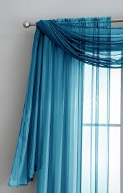Turquoise Sheer Curtains Warm Home Designs Turquoise Window Scarf Sheer Turquoise Curtains