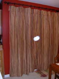 Curtain Hanging Hardware Decorating Curtains For Sliding Glass Doors With Wall Color Red Decorating