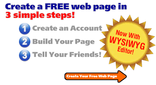 all4webs free web pages