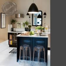 modern interior design clear acrylic transparent kitchen counter