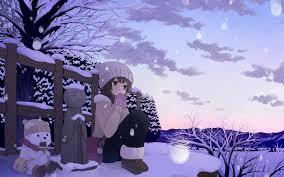 winter anime wallpaper hd anime winter wallpaper 42573 1680x1050 px hdwallsource com