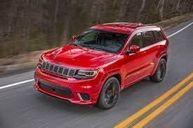 trackhawk jeep cherokee jeep says the grand cherokee trackhawk is the fastest suv ever