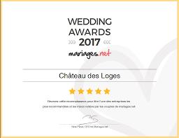 www mariages net chateau des loges wedding awards 2017 2016 et 2015 mariages net