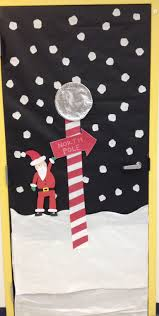 north pole christmas decorations for doors art projects