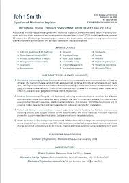 sample of mechanical engineer resume fresher resume for mechanical