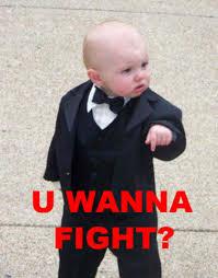 Fight Meme - u wanna fight know your meme