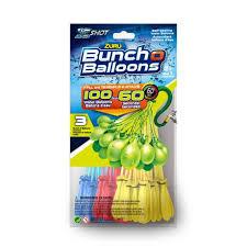 bunch balloons zuru bunch o balloons fill tie self sealing water balloons
