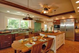 Kitchen Ceiling Fan With Lights Ceiling Fan Chandelier Combo Style Sorrentos Bistro Home
