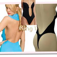 2017 women invisible under dress shapewear thong bottom backless
