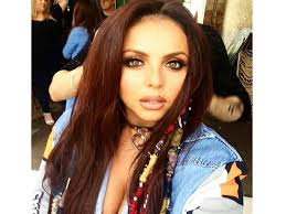 hair wraps jesy nelson perfects the 90s trend with colourful hair wraps look