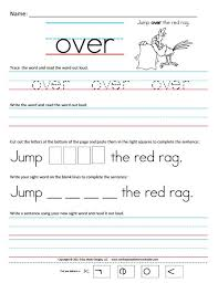 writing worksheets 1st grade worksheets