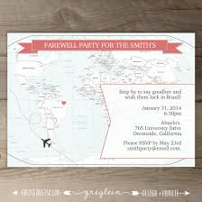 farewell party invitation going away party invitations goodbye party invites moving