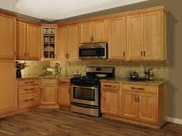 kitchen kitchen color ideas with oak cabinets corner design wall