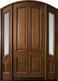 Frosted Glass Exterior Doors by Wood Entry Doors From Doors For Builders Inc Solid Wood Entry