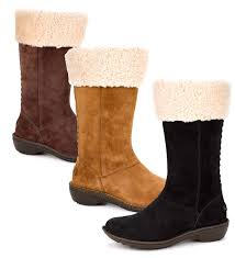 ugg womens karyn boot ugg karyn silkee suede boots ugg boots plow hearth
