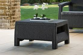 amazon com keter corfu 4 piece set all weather outdoor patio