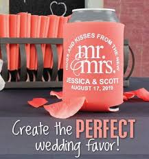 personalized wedding koozies custom wedding koozies wedding can coolers 2505399 weddbook