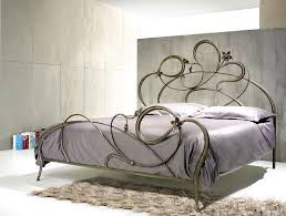 Iron Rod Bed Frame Iron Curved Lines Wrought Bed Harmonious Design Dma Homes