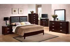 dark brown lacquered maple wood full size bed frame which slicked