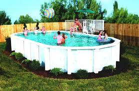Backyard Above Ground Pool Ideas Home Design Backyard Ideas With Above Ground Pools Cottage