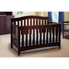 Delta Canton 4 In 1 Convertible Crib Convertible Cribs Coastal Bedroom Cherry Acrylic Delta Children