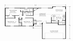 one story floor plans one story house plans small inspirational best e story floor plans