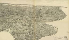 Printable Map Of New York City by Free Downloads Of Large Old New York City Maps Minimalgoods