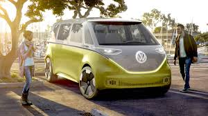 black volkswagen bus vw u0027s electric microbus is coming in 2022