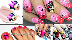 100 pretty cute mickey mouse nail design with relaxing music