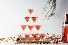 how to diy a champagne tower for the flashiest new year u0027s ever