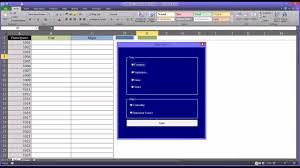 adding data to excel using option buttons on a vba userform youtube