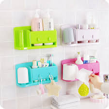 Storage Boxes Bathroom Self Adhesive Kitchen Storage Box Organizer Plastic Bag Holder