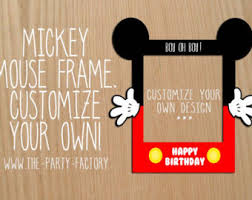 mickey mouse photo booth mickey photo booth frame mickey mouse circular mickey mouse